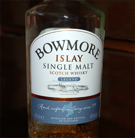 Bowmore Legend Single Malt Scotch Whisky