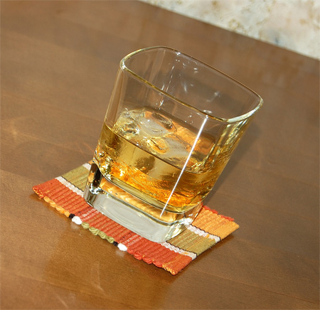 Rusty Nail with Auchentoshan Classic Single Malt Scotch Whisky