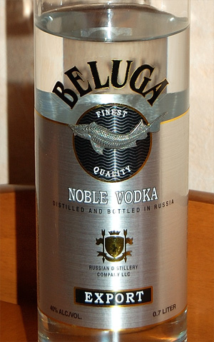 Discovering vodka. Part II, Beluga Vodka
