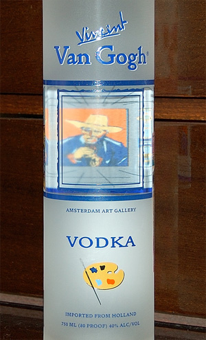 Discovering vodka. Part II, Van Gogh Vodka