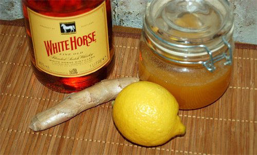 Ginger liqueur, ingredients