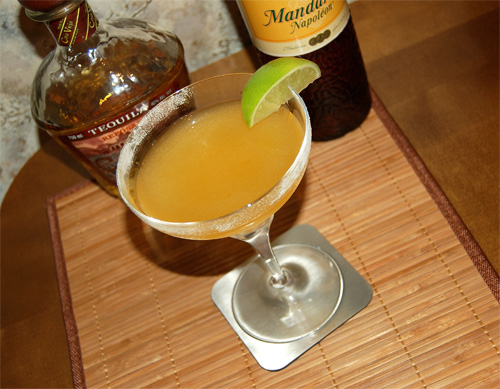 Mandarine Margarita cocktail
