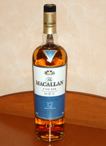 Macallan Fine Oak 12 years old Single Malt Scotch Whisky