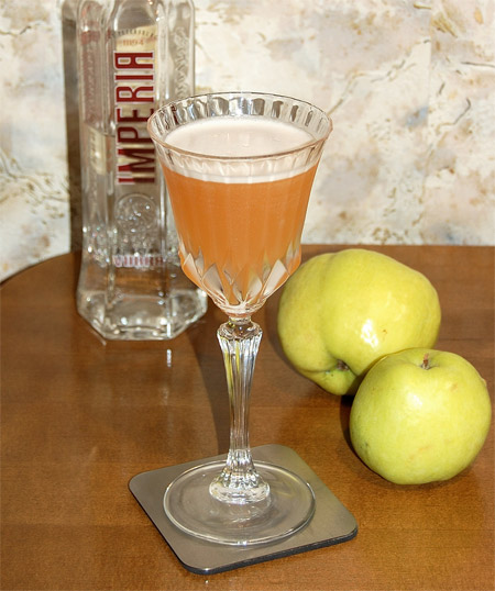 MxMo LXI: Local Color - Russian Apple Sour