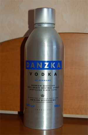 Discovering vodka. Part III, Danzka Vodka (50% ABV)