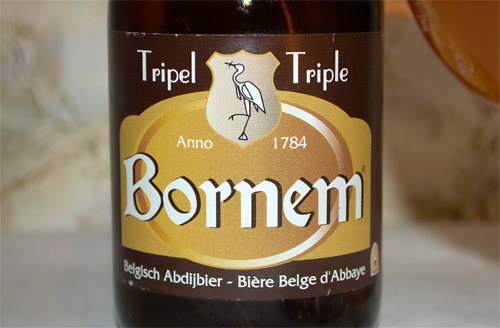 Bornem Tripel, a label
