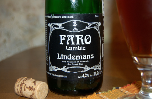 Lindemans Faro Lambic, a label