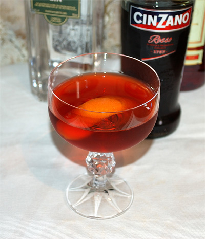 Different Negroni: Gin Variations, Old Tom Negroni