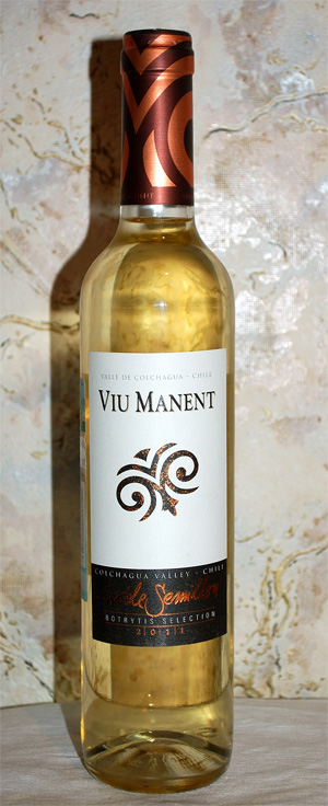 Viu Manent Nobles Semillon Botrytis Selection 2011