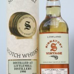 Littlemill 1990 Signatory Vintage Single Malt Scotch Whisky
