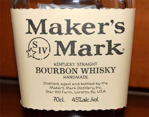 Maker's Mark Kentucky Straight Bourbon Handmade Whisky