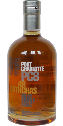 Port Charlotte PC8 Ar Dùthchas Islay Single Malt Whisky