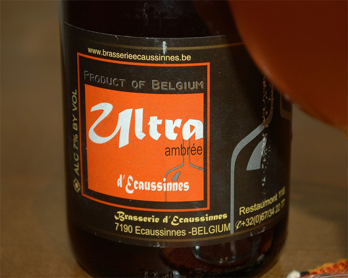 Ultra Ambrée, a label