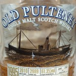 Old Pulteney 1995 Single Malt Scotch Whisky