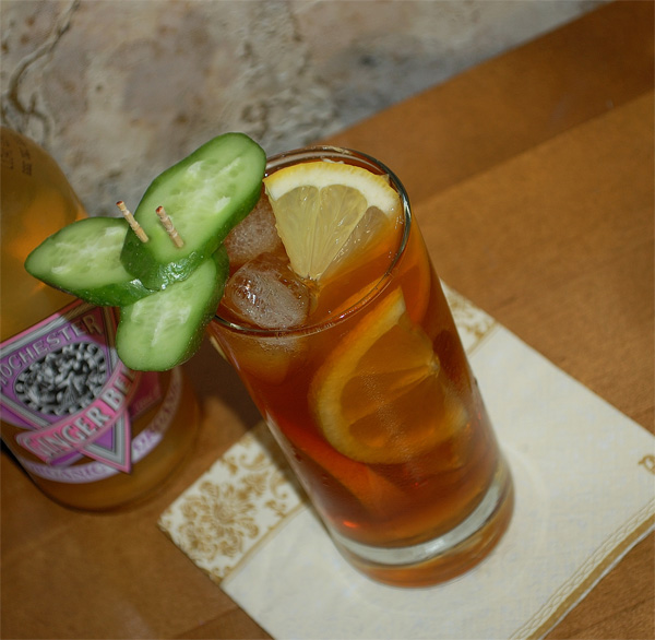 Spicy Pimm's Cup
