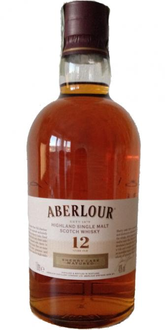 Aberlour Highland Single Malt Scotch Whisky 12 years old Sherry Cask