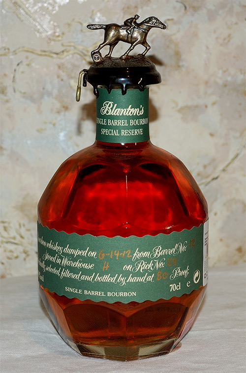 Blanton's Special Reserve Single Barrel Bourbon Whiskey