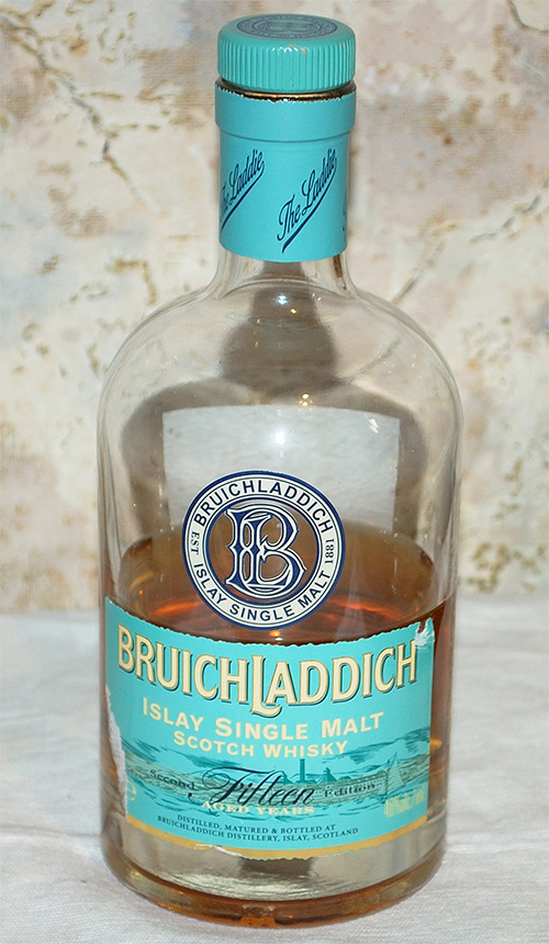 Bruichladdich Islay Single Malt Scotch 15-years-old Whisky (Second Edition)
