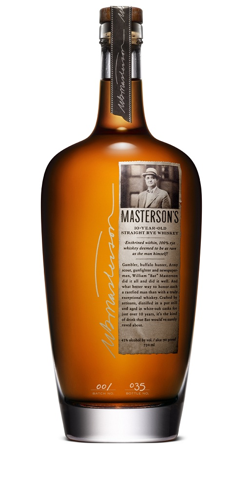 Masterson's 10-years-old Straight Rye Whiskey