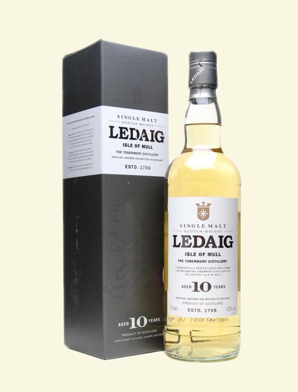 Ledaig Single Malt Scotch 10 years old Whisky
